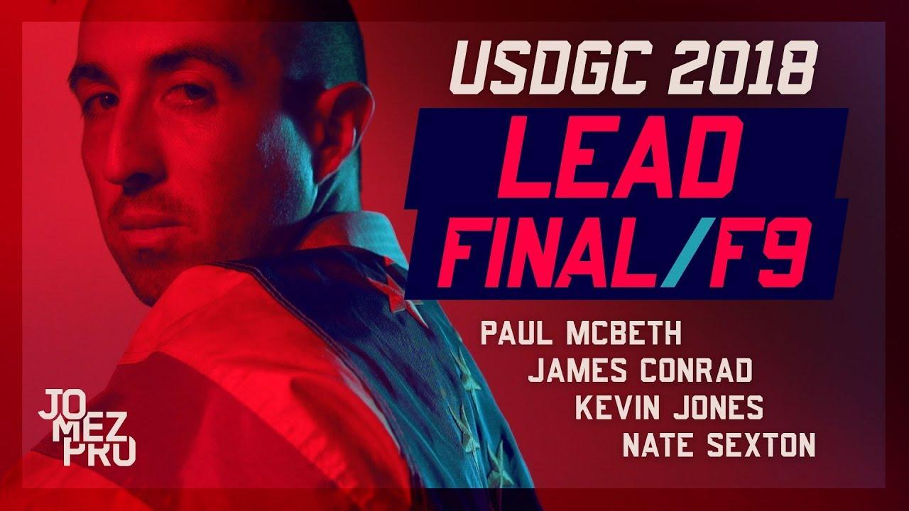2018 USDGC | Lead Card | Final Round, F9
