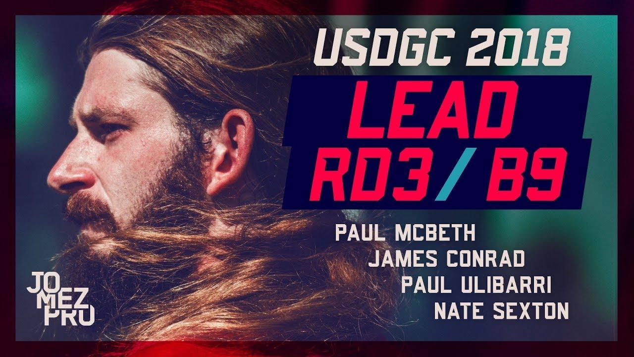 2018 USDGC | Lead Card | Round 3, B9