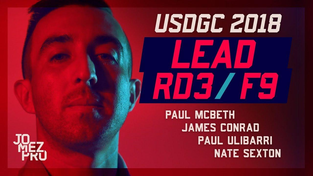 2018 USDGC | Lead Card | Round 3, F9