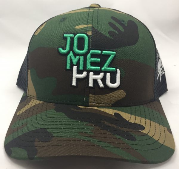 Jomez Pro Lock-up CAMO with Black Mesh Adjustable Disc Golf Hat