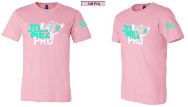 Camera Disc Golf Shirt Pink