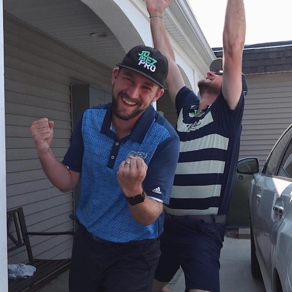 Big Sexy Celebrating in Hat