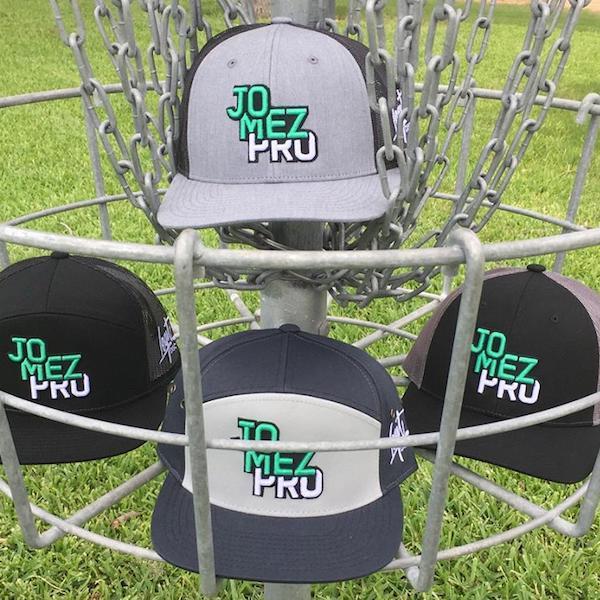 Caps in Disc Golf Basket