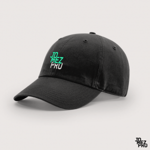 JomezPro Black Dad Disc Golf Hat