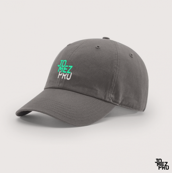 JomezPro Charcoal Dad Hat For Disc Golf