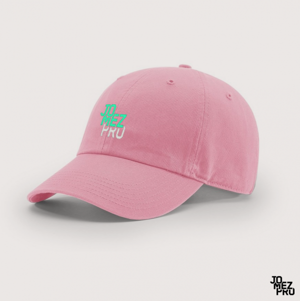 JomezPro Pink Dad Hat For Disc Golfers