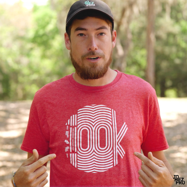 JomezPro 100k Disc Golf Shirt