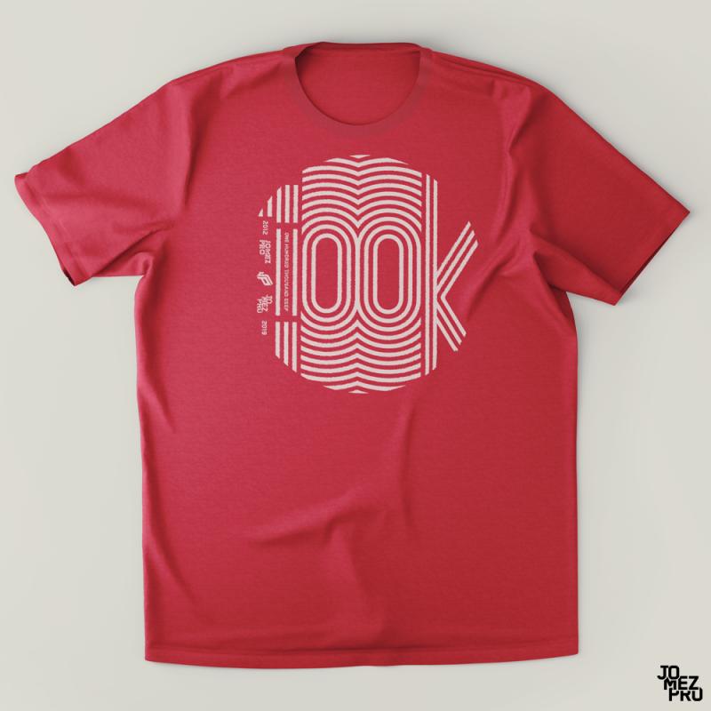 JomezPro 100k Disc Golf Shirt Front