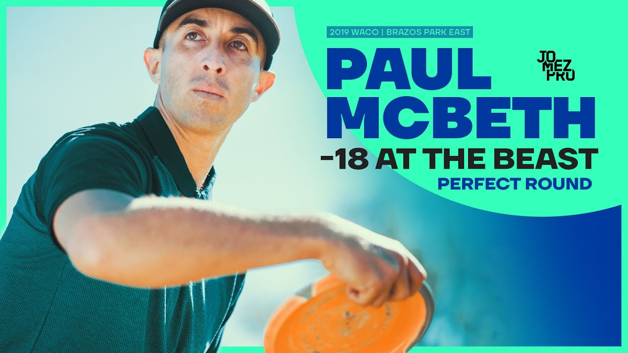 Paul McBeth (-18) Perfect Round at The bEast