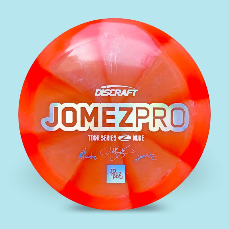 Jomez-Pro-Signature-Tour-Disc-Discraft-Nuke-17-red