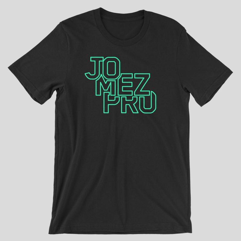 JomezPro-Neon-Silhouette-Logo-Shirt-Front-03-Black