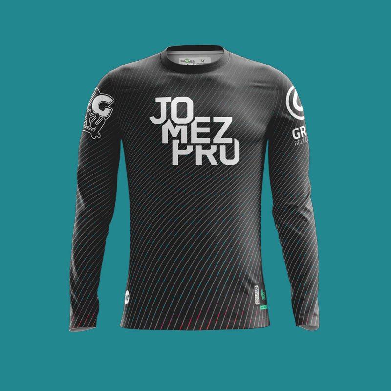Jomez-Pro-Disc-Golf-Jersey-Stealth-Long-Sleeve-Men-Front-1000px-01