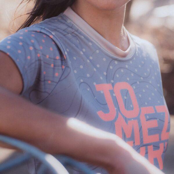 2021 Jomez Pro Jersey Women's Tracker Front Detail