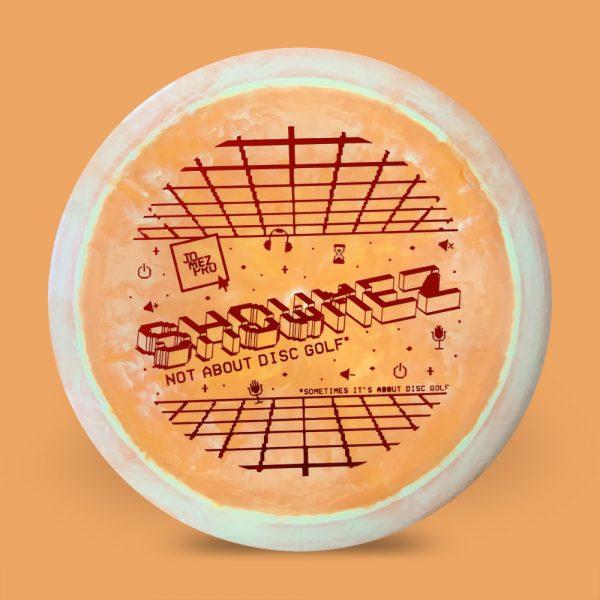 Showmez Disc Discraft ESP Force Orange
