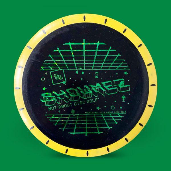 Showmez Disc Innova XT Nova Black and Yellow