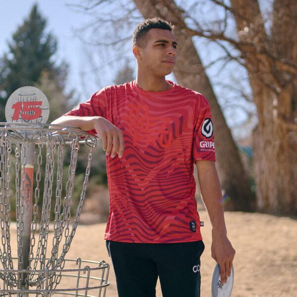 JomezPro Men's Jersey Flex Disc Golfer