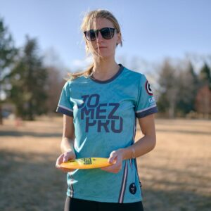 JomezPro Women's Jersey Flight Disc Golfer