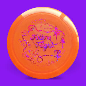 FollowFlight Dynamic Discs BioFuzion Freedom Orange