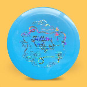 FollowFlight Dynamic Discs Fuzion Criminal Blue