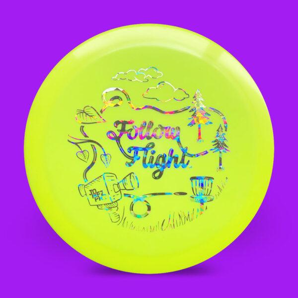 FollowFlight Dynamic Discs Fuzion Criminal Yellow