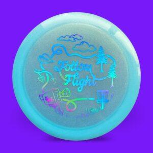 FollowFlight Dynamic Discs Lucid Metallic Trespass Blue