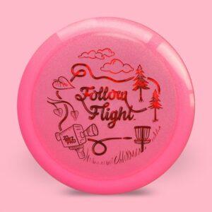FollowFlight Dynamic Discs Lucid Metallic Trespass Pink