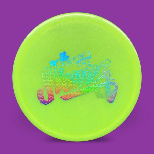 FollowFlight Dynamic Discs Lucid Metallic Justice Green