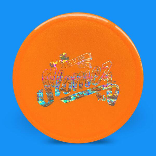 FollowFlight Dynamic Discs Lucid Metallic Justice Orange
