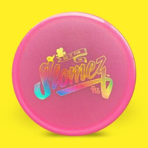 FollowFlight Dynamic Discs Lucid Metallic Justice Pink