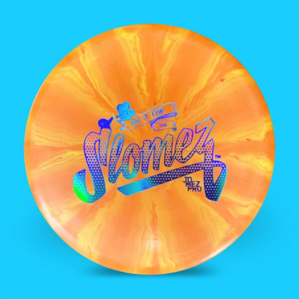 SloMez Dynamic Discs Prime Burst eMac Truth Orange Holo Stamp