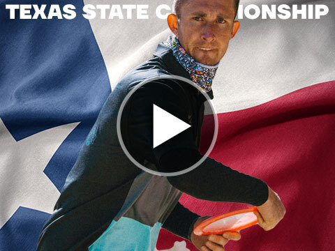 JomezPro Texas State Disc Golf Championships 2021 Practice Round Banner
