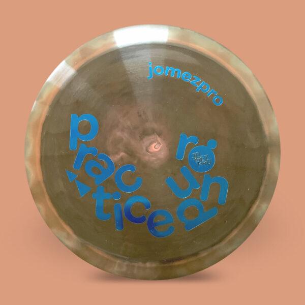 JomezPro Practice Round Discraft ESP Force Brown