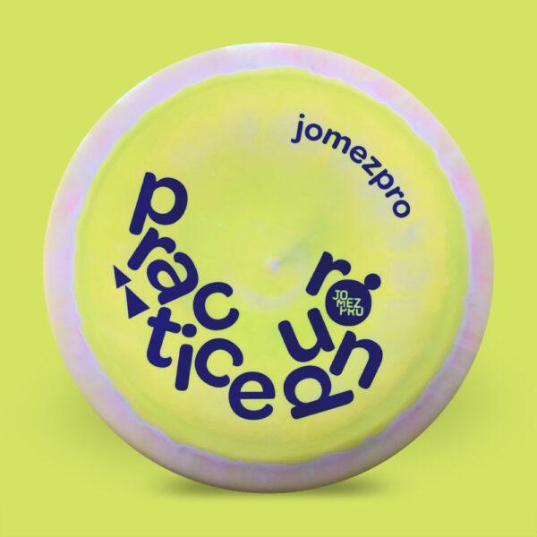 JomezPro Practice Round Discraft ESP Force Yellow