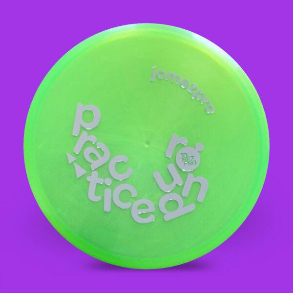 JomezPro Practice Round Innova Luster RocX3 Green