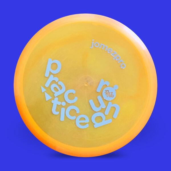 JomezPro Practice Round Innova Luster RocX3 Orange
