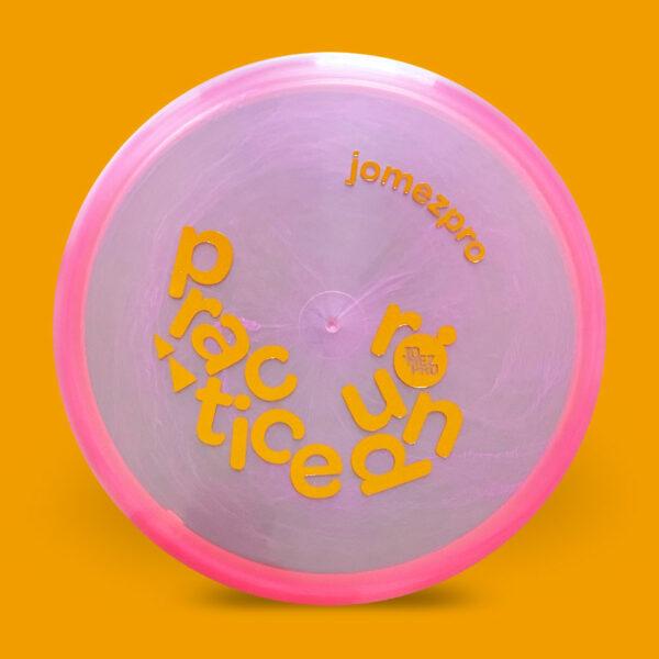 JomezPro Practice Round Innova Luster RocX3 Pink