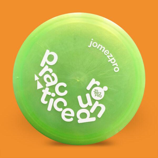 JomezPro Practice Round Innova Luster Teebird3 Green