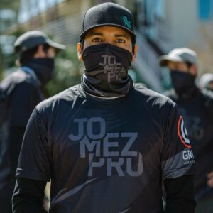 2021 Jomez Pro Stealth Face Cover Model