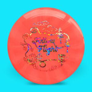 FollowFlight Dynamic Discs Fuzion Burst Raider Red