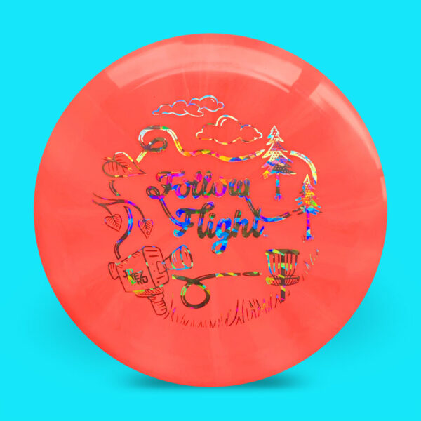 FollowFlight Dynamic Discs Fuzion Burst Raider Red