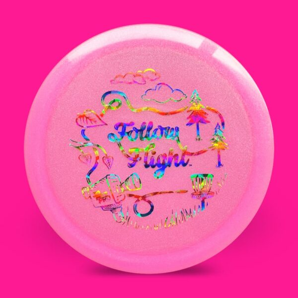 FollowFlight Dynamic Discs Lucid Metallic Felon Pink