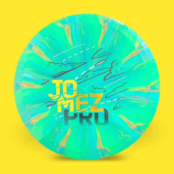 JomezPro MVP Cosmic Neutron Streamline Trace Mint Yellow